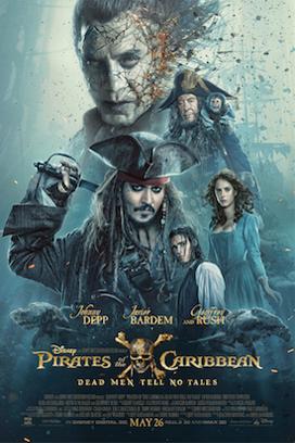 Poster for Pirates of the Caribbean: Dead Men Tell No Tales