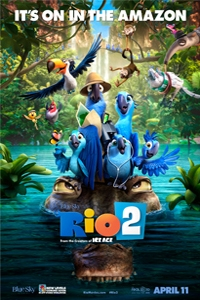 Rio 2 in 3D_Poster