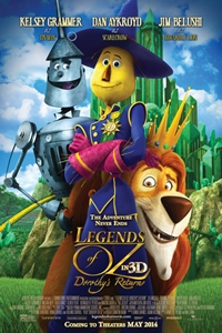 Legends of Oz: Dorothy's Return 3D_Poster