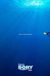 Finding Dory in Disney Digital 3D Poster