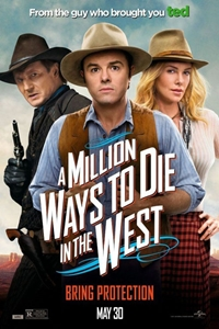 A Million Ways to Die in the West_Poster