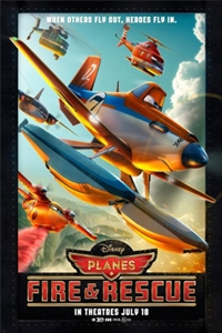 Planes: Fire & Rescue 3D_Poster
