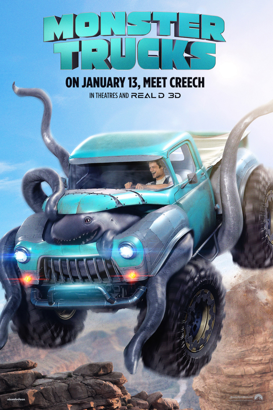 Poster for Monster Trucks