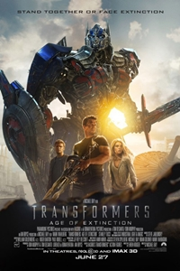 Transformers: Age of Extinction 3D Poster