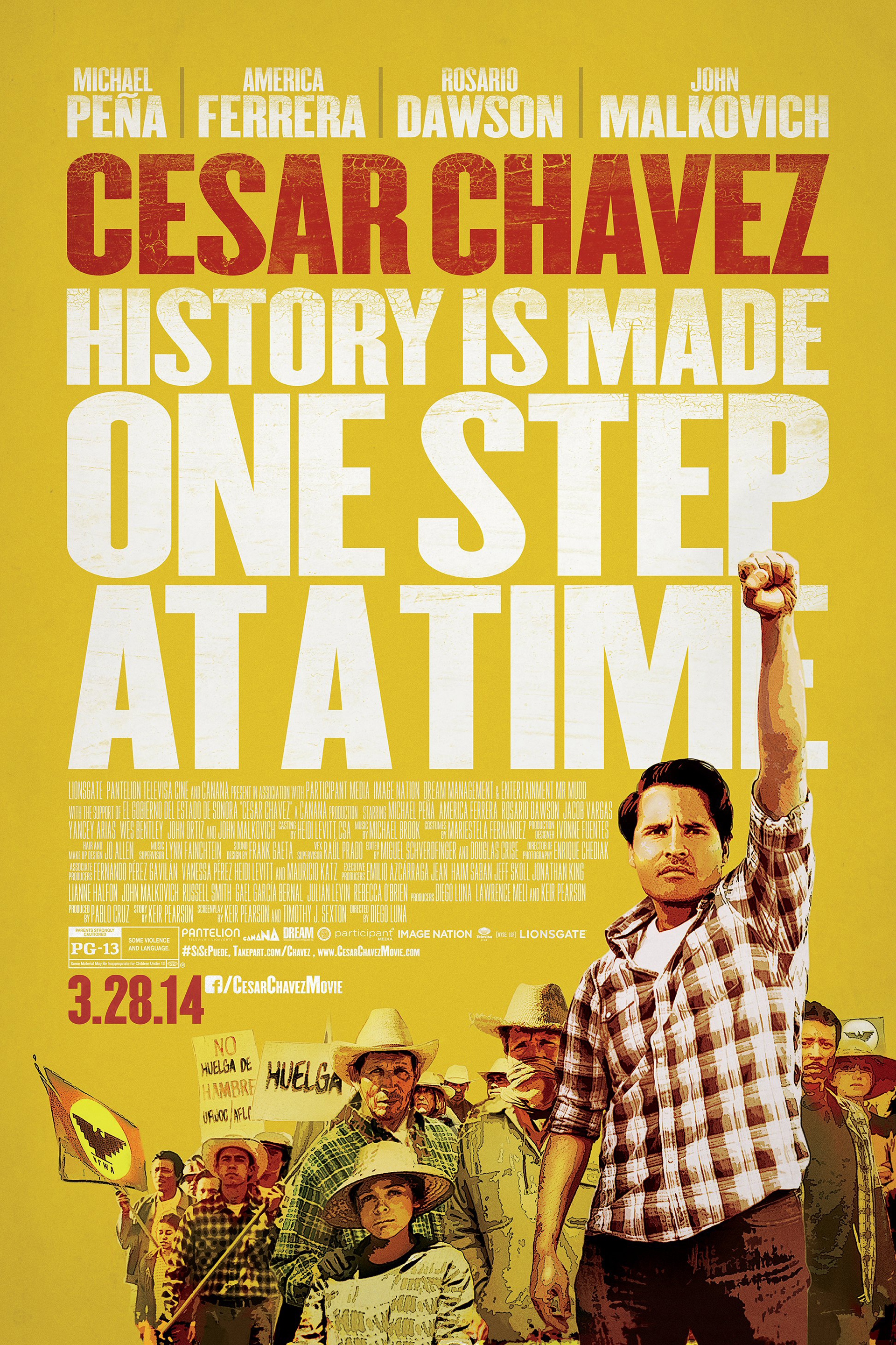 Poster of Cesar Chavez