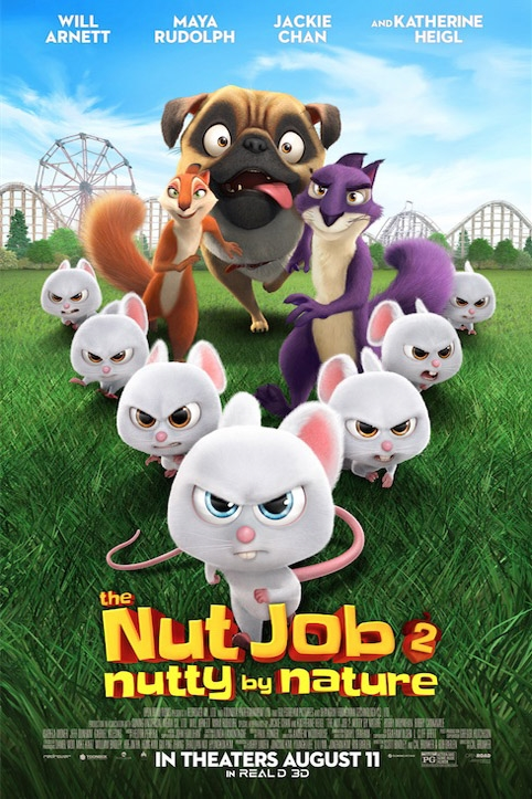 Poster of Nut Job 2: Nutty By Nature, The