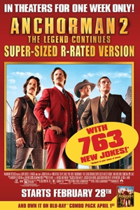 Anchorman 2: Supersized
