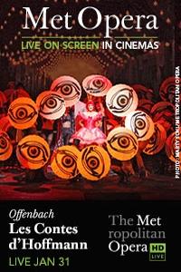 The Metropolitan Opera: Les Contes d'Hoffmann Poster