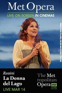 The Metropolitan Opera: La Donna del Lago_Poster