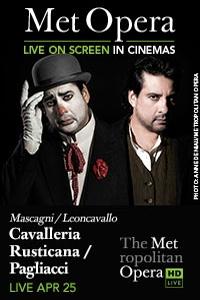The Metropolitan Opera: Cavalleria Rusticana/Pagliacci