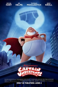 Captain Underpants: The First Epic Movie in 3D Poster