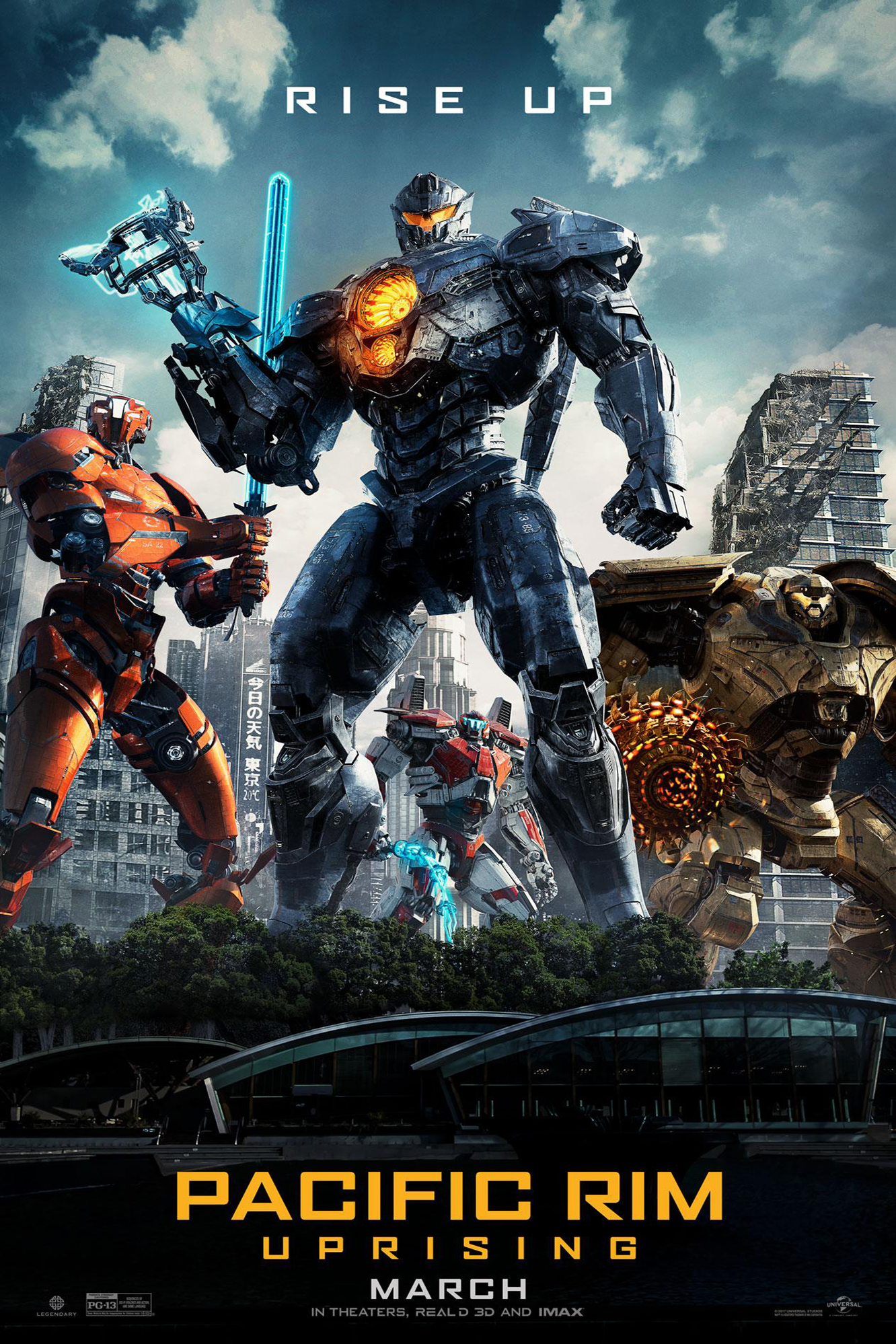 Poster ofPacific Rim: Uprising