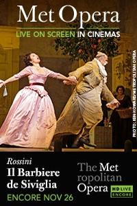 The Metropolitan Opera: Il Barbiere di Siviglia Encore