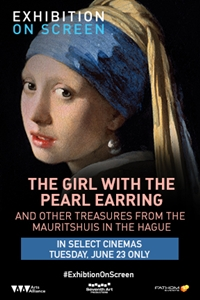 Girl With a Pearl Earring (Exhibition On Screen)