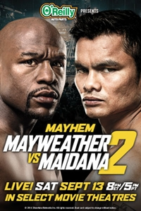 Mayhem: Mayweather vs Maidana_Poster