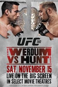 UFC 180: Velasquez vs. Werdum