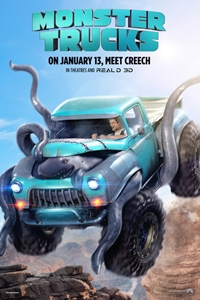 Poster for Monster Trucks 3D