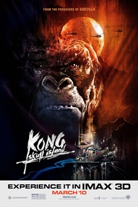 Poster for Kong: Skull Island An IMAX 3D Experience