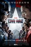 Captain America: Civil War in Disney Digital 3D Poster