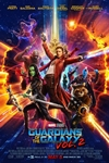 Guardians of the Galaxy Vol. 2 in Disney Digital 3D Poster