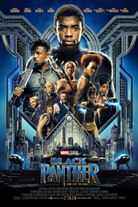 Poster for Black Panther in Disney Digital 3D
