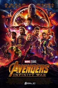 Avengers: Infinity War in Disney Digital 3D Poster