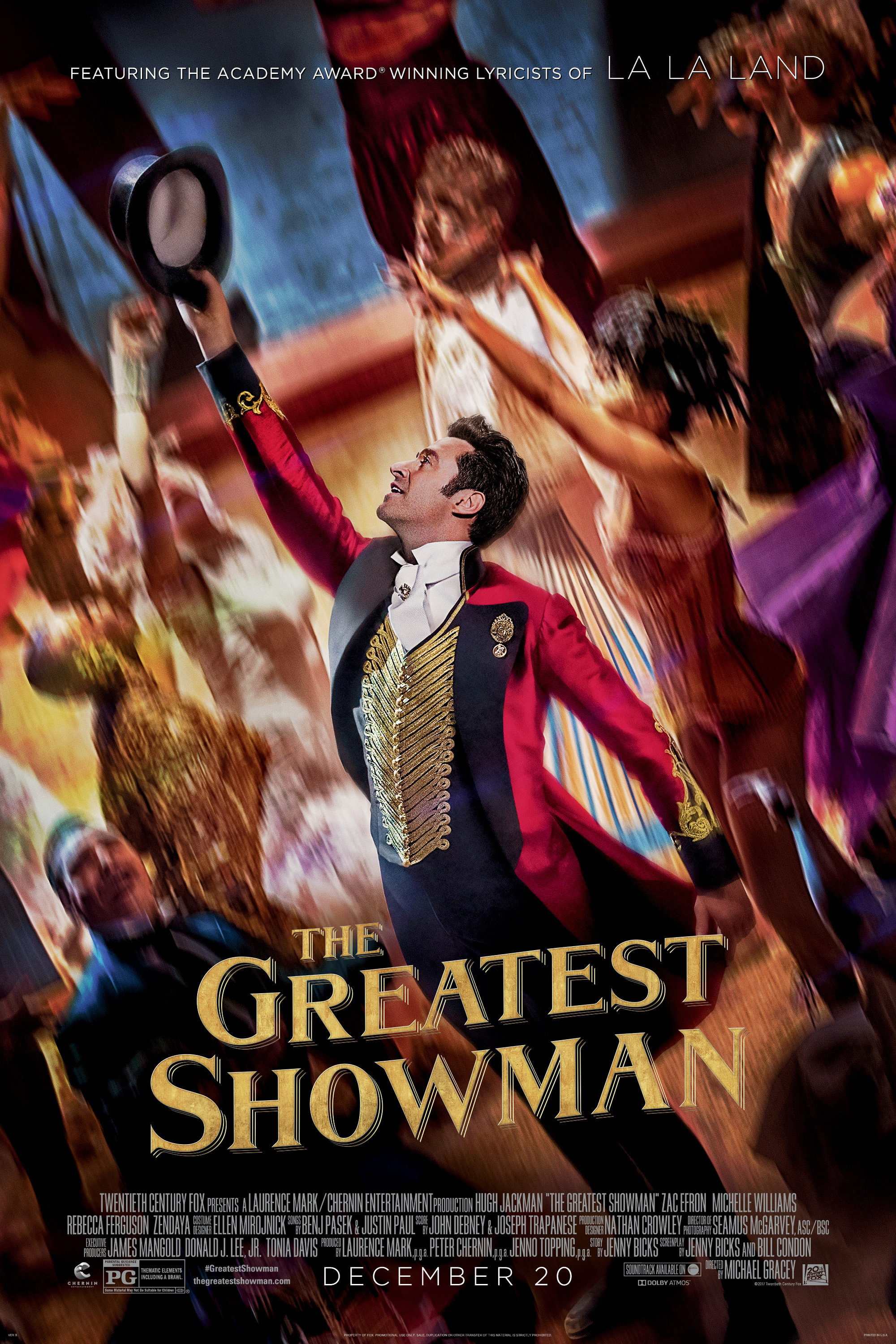 Poster ofGreatest Showman, The