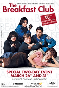 The Breakfast Club 30th Anniversary