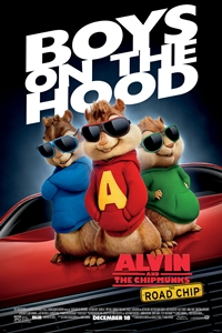 Poster for Alvin and the Chipmunks: The Road Chip