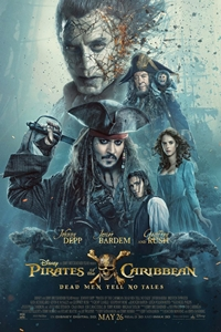 Pirates of the Caribbean: Dead Men Tell No Tales 3D Poster