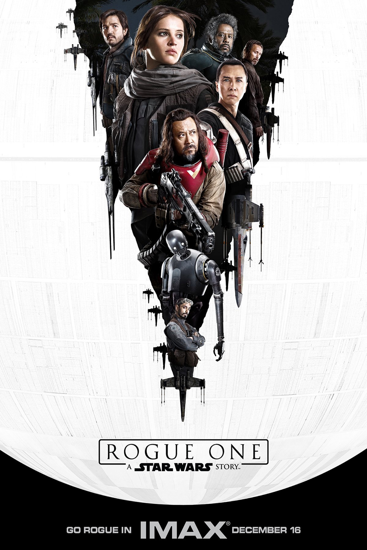 Poster for Rogue One: A Star Wars Story An IMAX 3D Experience