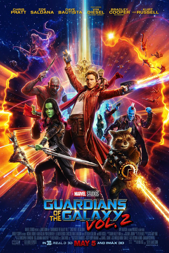 Poster for Guardians of the Galaxy Vol. 2: An IMAX 3D Experience