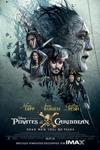 Poster for Pirates of the Caribbean: Dead Men Tell No Tales An IMAX 3D Experience