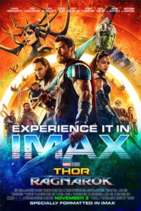 Poster for Thor: Ragnarok An IMAX 3D Experience