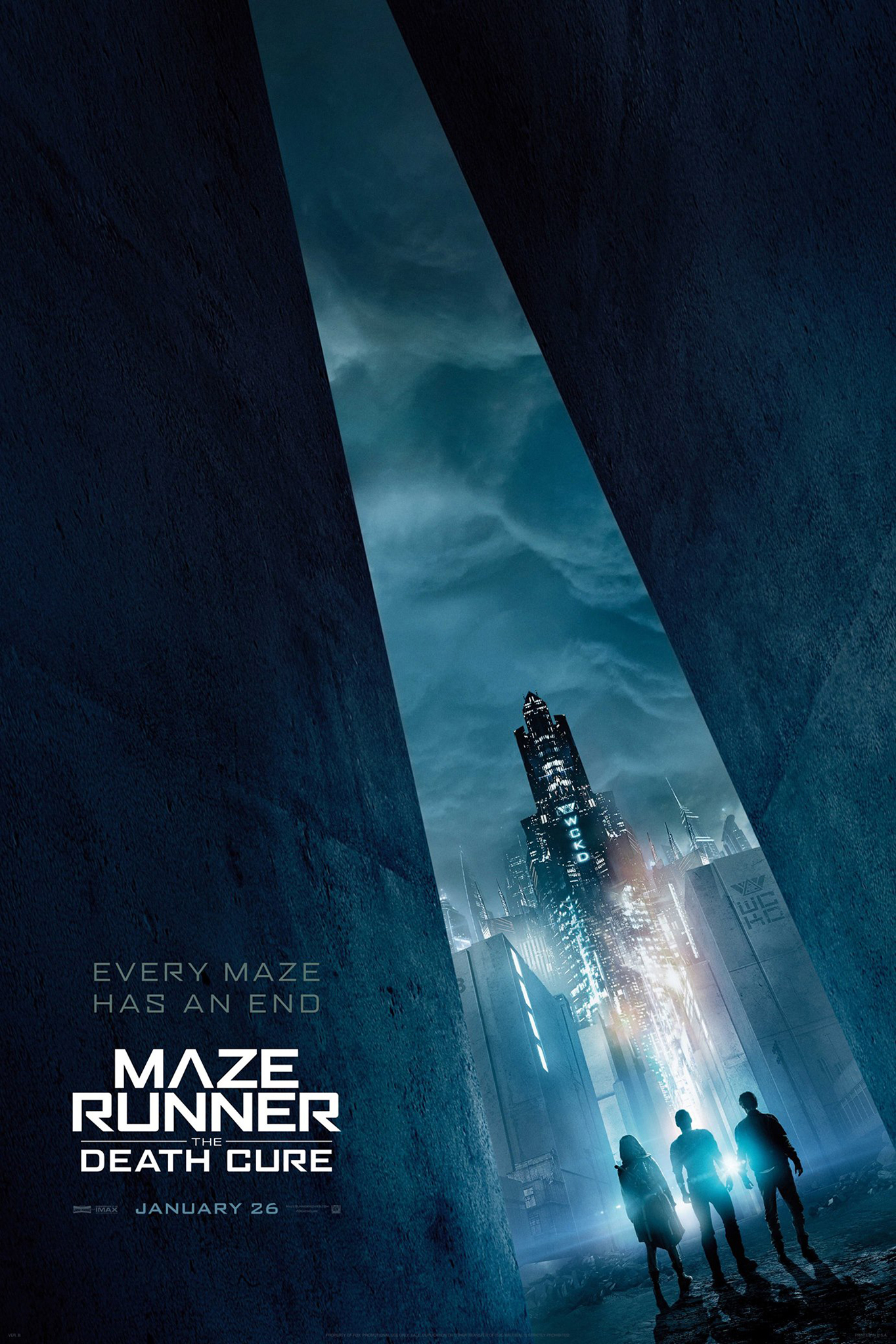 Poster ofMaze Runner: The Death Cure