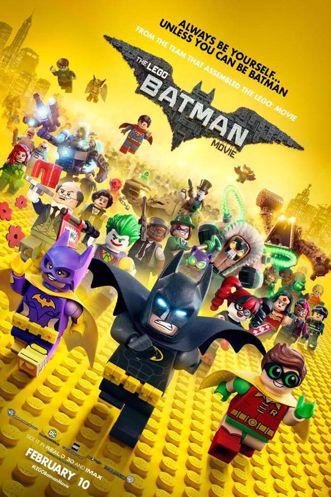 Poster of Lego Batman Movie, The