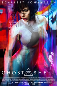 Ghost in the Shell 3D Poster