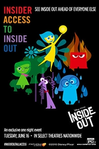 Insider Access to Disney Pixars Inside Out