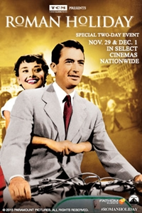 TCM Presents Roman Holiday
