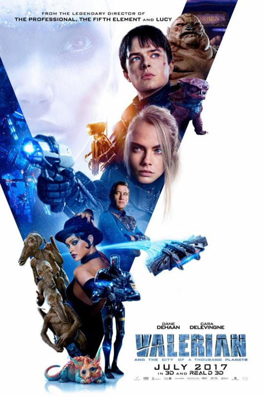 Poster of Valerian and the City of a Thousand Planets