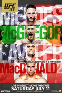 UFC 189: Aldo vs McGregor