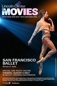 Lincoln Center Series: San Francisco Ballet's Romeo & Juliet