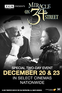 TCM Presents Miracle on 34th Street
