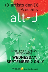Artists Den Presents alt-J