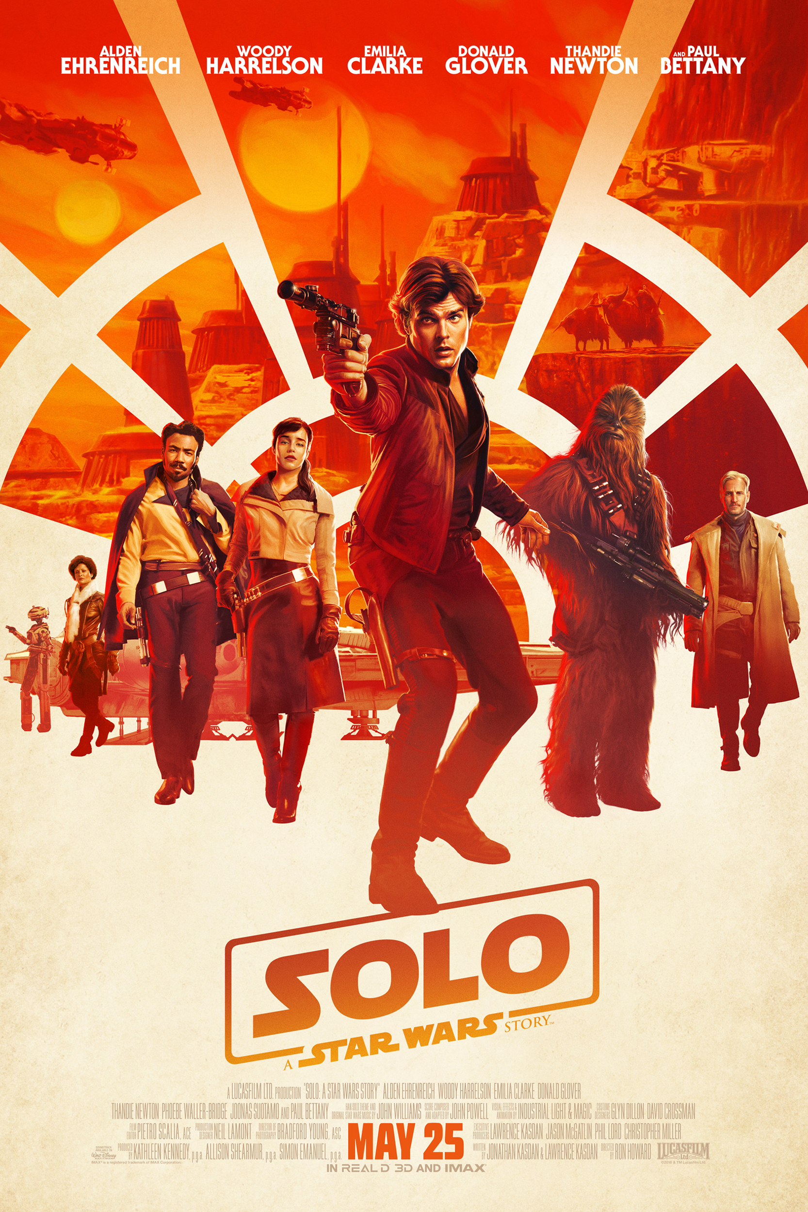 Poster of Solo: A Star Wars Story