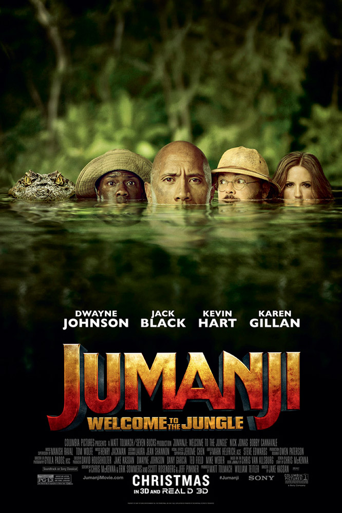 Poster of Jumanji: Welcome to the Jungle