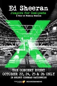 Ed Sheeran x Tour at Wembley Stadium