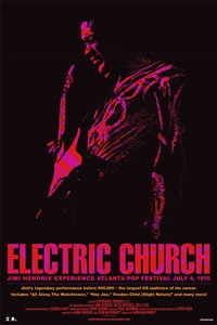 Jimi Hendrix: Electric Church Poster
