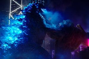 Godzilla vs Kong cast photo