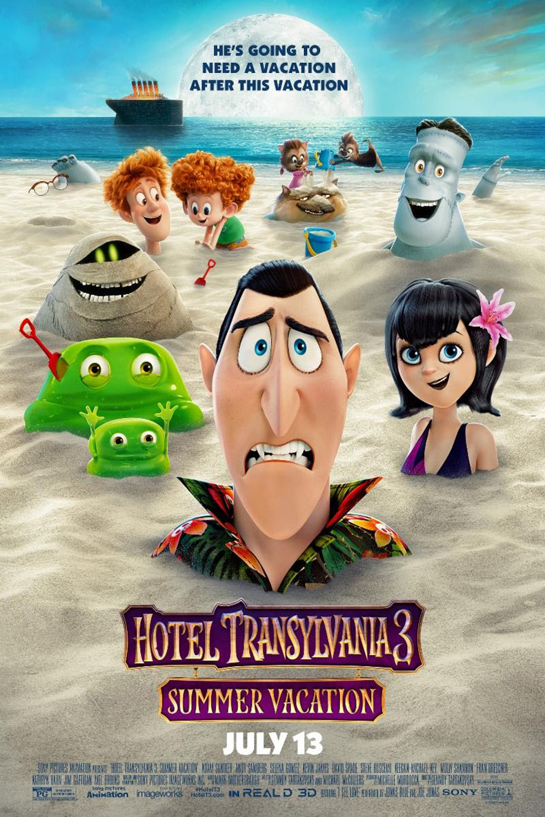 Poster for Hotel Transylvania 3: Summer Vacation